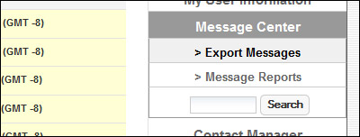 Export Message Button