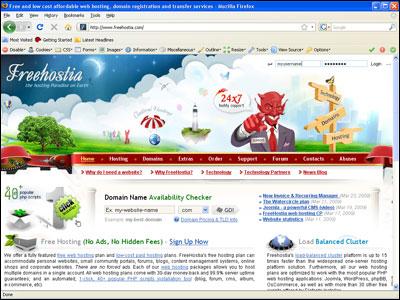 Free Hostia Free Web Hosting